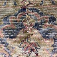 機械織り絨毯の修理