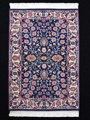 画像1: トルコ手織りウール絨毯 玄関マットサイズ AC-214