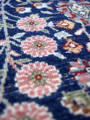 画像2: トルコ手織りウール絨毯 玄関マットサイズ AC-214