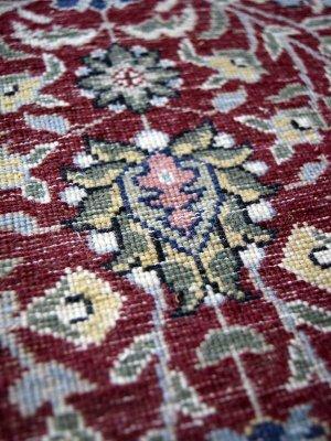 画像2: トルコ手織りウール絨毯 玄関マットサイズ AC-218