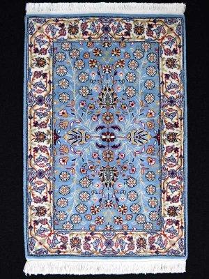 画像1: トルコ手織りウール絨毯 玄関マットサイズ AC-219