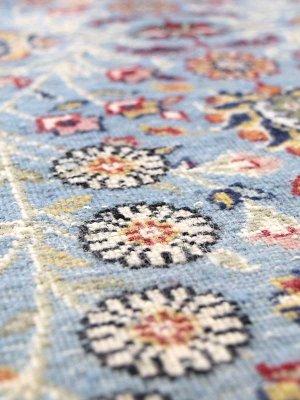画像2: トルコ手織りウール絨毯 玄関マットサイズ AC-219