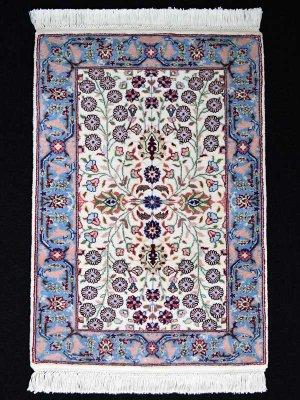 画像1: トルコ手織りウール絨毯 玄関マットサイズ AC-220