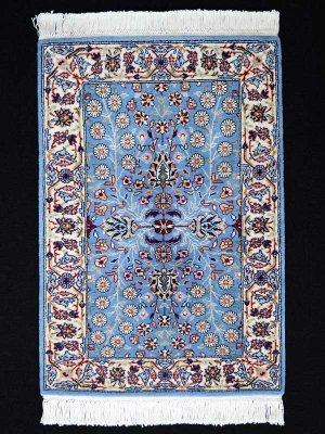 画像1: トルコ手織りウール絨毯 玄関マットサイズ AC-222