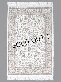 トルコ手織りウール絨毯 玄関マットサイズ AC-228