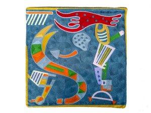 画像1: ワシリー・カンディンスキー アート刺繍クッションカバー