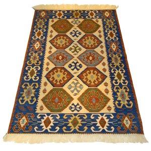 画像1: トルコ製手織りニューキリム [AK-1019]