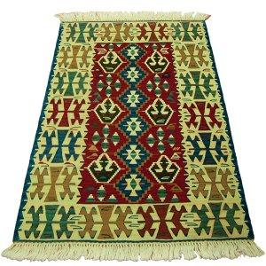 画像1: トルコ製手織りニューキリム [AK-1065]