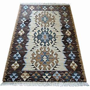 画像1: トルコ製手織りニューキリム [AK-1231]