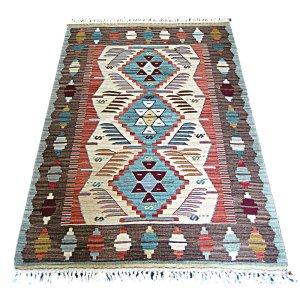 画像1: トルコ製手織りニューキリム [AK-1232]