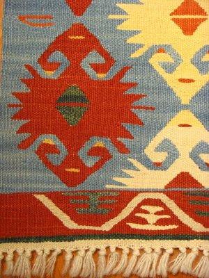画像3: トルコ手織りニューキリム 玄関マットサイズ [AK-0043]