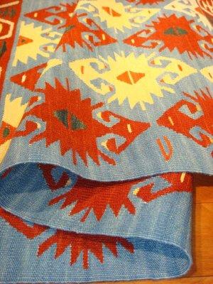 画像4: トルコ手織りニューキリム 玄関マットサイズ [AK-0043]