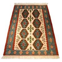 トルコ手織りニューキリム 玄関マットサイズ [AK-1106]