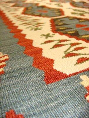 画像2: トルコ手織りニューキリム 玄関マットサイズ [AK-1106]