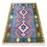 トルコ手織りニューキリム 玄関マットサイズ [AK-1245]