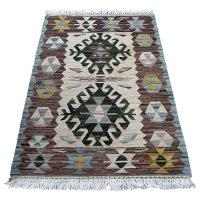 トルコ手織りニューキリム 玄関マットサイズ [AK-1246]