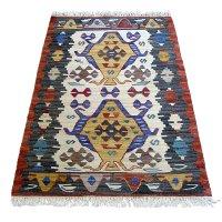 トルコ手織りニューキリム 玄関マットサイズ [AK-1247]
