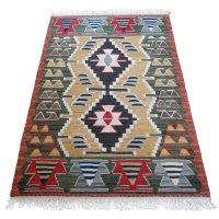トルコ手織りニューキリム 玄関マットサイズ [AK-1248]