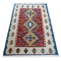 トルコ手織りニューキリム 玄関マットサイズ [AK-1249]