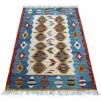 トルコ手織りニューキリム 玄関マットサイズ [AK-1250]