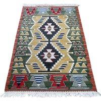 トルコ手織りニューキリム 玄関マットサイズ [AK-1251]