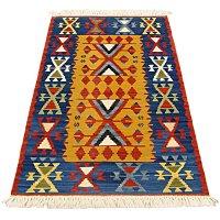 トルコ手織りニューキリム 玄関マットサイズ [AK-0987]