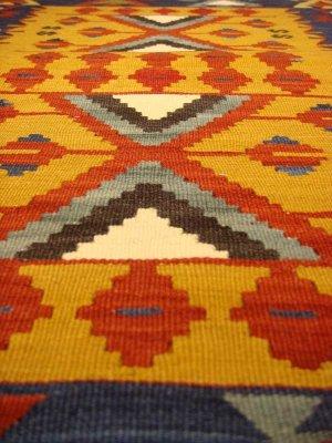 画像2: トルコ手織りニューキリム 玄関マットサイズ [AK-0987]