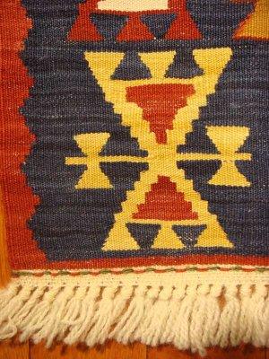 画像3: トルコ手織りニューキリム 玄関マットサイズ [AK-0987]