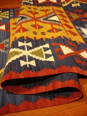画像4: トルコ手織りニューキリム 玄関マットサイズ [AK-0987]