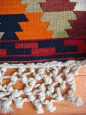 画像2: トルコ手織りオールドキリム[AK-0035]