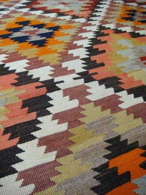 画像3: トルコ手織りオールドキリム[AK-0035]
