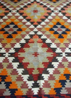 画像5: トルコ手織りオールドキリム[AK-0035]