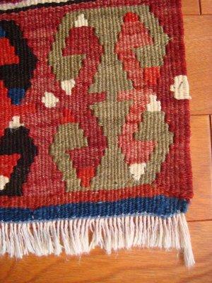 画像2: トルコ手織りオールドキリム[AK-0093]
