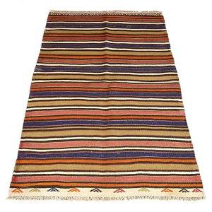 画像1: トルコ手織りオールドキリム[AK-0226]