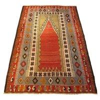 トルコ手織りオールドキリム[AK-1130]