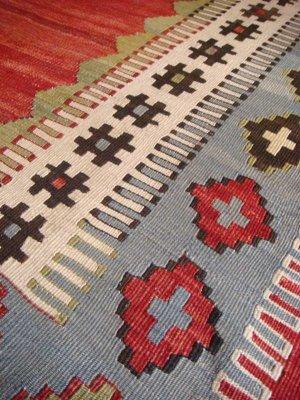 画像4: トルコ手織りオールドキリム[AK-1130]