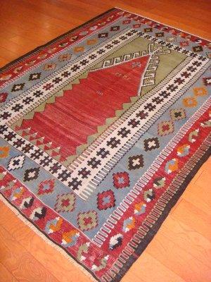 画像5: トルコ手織りオールドキリム[AK-1130]