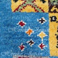 手織りウール絨毯の結糸交換