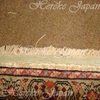 手織りシルク絨毯の房修理