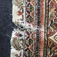 手織りシルク絨毯のサイズ変更