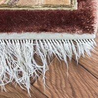 シルク絨毯の房修理