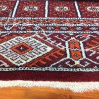 手織り絨毯の房修理