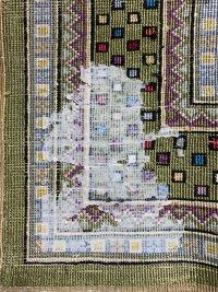 手織絨毯のクリーニング