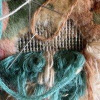絨毯の穴修理