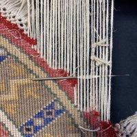 絨毯の房修理