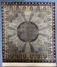 手織シルク絨毯の壁掛け