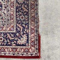 機械織り絨毯のサイズ変更