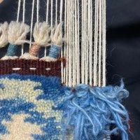 手織り絨毯の角房修理